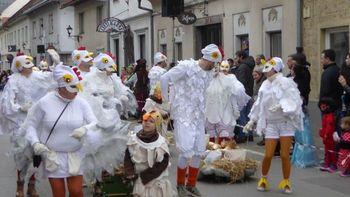 Poročilo o ogledu 26. pustnega karnevala v Ribnici (Sonček)