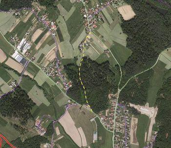 Večja vzdrževalna dela na cesti med Lopato in Gorico pri Šmartnem
