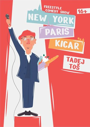 Tadej Toš: New York, Paris, Kicar