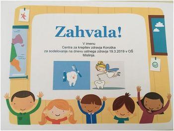 Svetovni dan ustnega zdravja 20. marec