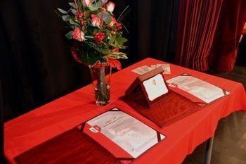 5. praznik občine - Listina OŠ Mokronog, priznanje Marti Pančur