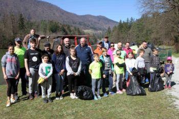 Pomladansko urejanje okolja v Občini Braslovče, manj odpadkov