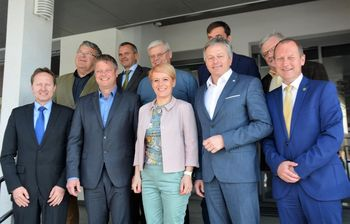 Drugo srečanje županov Zgornje Gorenjske z ministrico MKGP go. Aleksandro Pivec