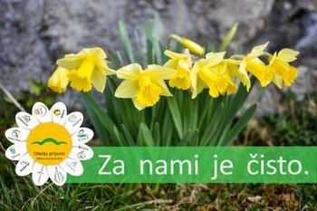 Mesec april je mesec ozaveščanja za čisto okolje