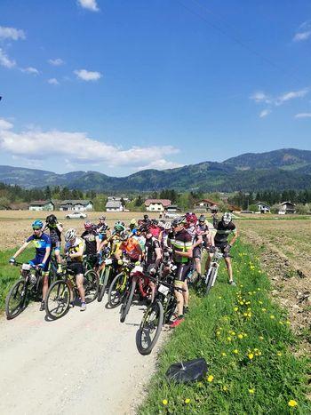 Otvoritev pokala v gorskem kolesarstvu Vuhred