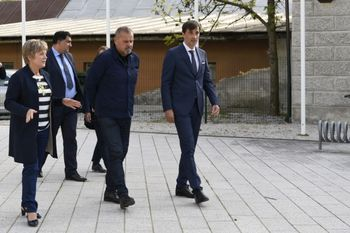 Jesenice obiskal minister za kulturo