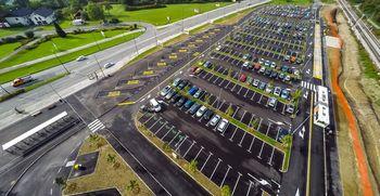 Urejamo novo P+R parkiršče v Stanežičah