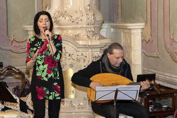 Kresni večer na Lednici s Klariso Jovanovič in Igorjem Bezgetom