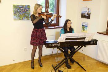 Odprtje slikarske razstave učencev slikarske šole Brine Torkar