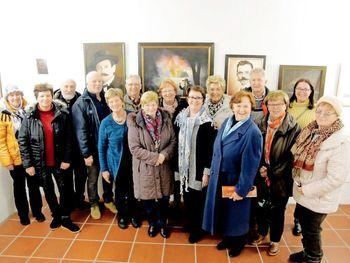 Odprtje razstave Stare slike na platnih nam obudijo spomin