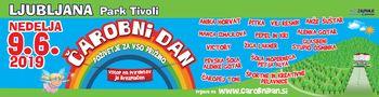 Kam z otroki v nedeljo, 9. junija?  Na Čarobni dan v Tivoliju, Ljubljana