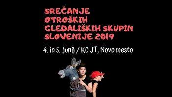 Srečanje otroških gledaliških skupin Slovenije
