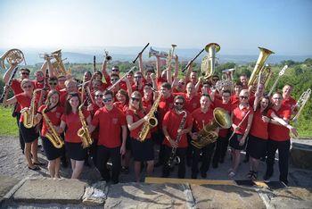 KD Godba Zgornje Savinjske doline nastopila na 20-letnici KD Pihalni orkester Marezige