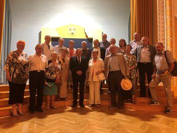 Nekdanji slovenski veleposlaniki obiskali Celje