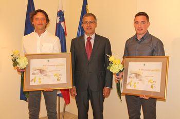 Nagrajenci Občine Žiri za leto 2019