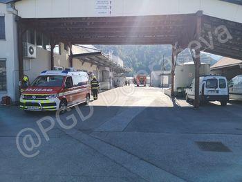 Požari v kompleksnih industrijskih objektih