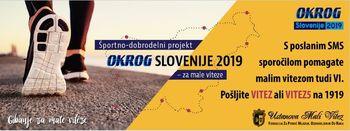 Športno dobrodelni projekt ''Okrog Slovenije 2019- za Male viteze''