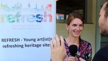 Video: Utrinki projekta Refresh v Novem mestu