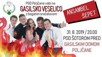 PGD Poljčane vabijo na GASILSKO VESELICO