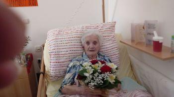 Obisk najstarejše občanke Občine Ravne na Koroškem