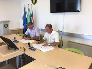 Podpis koncesijske pogodbe