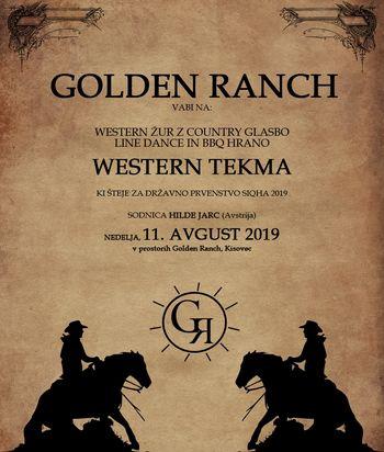Western tekma na Golden Ranchu