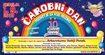 Čarobni dan v Arboretumu Volčji Potok praznuje 10. rojstni dan!