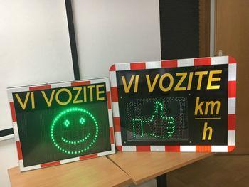 Nov merilnik hitrosti v Preboldu