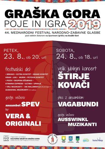 Graška Gora poje in igra 2019 - festival