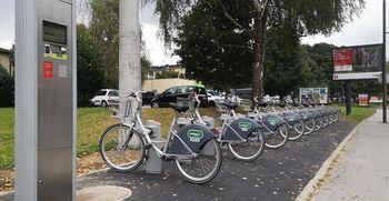 Odprli smo že 61. postajališče koles BicikeLJ