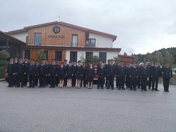 Gasilci Hodoša, Šalovcev in Gornjih Petrovcev na 150-letnici gasilstva v Sloveniji