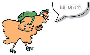 Projekt potovalnih navad učencev: Gremo peš! s kokoško Rozi