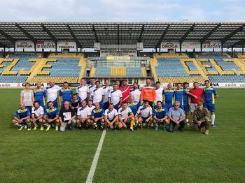 Tradiconalna nogometna tekma ekip Mestne občine Celje in Ministrstva za obrambo Republike Slovenije