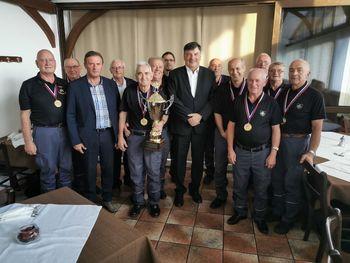 Veterani PGD Ponova vas so že četrto leto zapored postali pokalni zmagovalci Gasilske zveze Slovenije