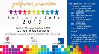 Kulturna šola 2019