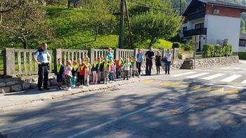 Vabljeni na pešbus do Osnovne šole Prežihovega Voranca