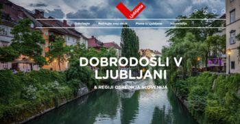 Nova podoba spletnega portala Turizma Ljubljana
