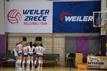 Izjemen odbojkarski vikend- WeilerVolleyGirls v štirih tekmah 4 zmage