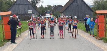 Športno društvo Gorje: Tek na rolkah v Ložu
