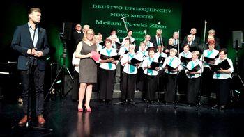 Koncert MePZ Društva upokojencev Novo mesto