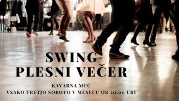 Swing plesni večeri v MCC Kavarni