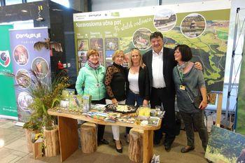 V okviru projekta LOCAL4GREEN je na sejmu Narava - zdravje svojo zeleno turistično ponudbo predstavljala tudi Občina Grosuplje