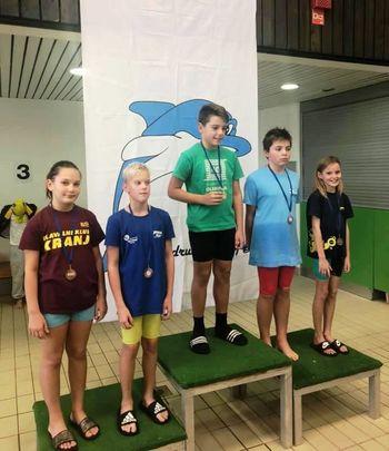 Ravenski plavalci osvojili dobre rezultate na prvem razvojnem pokalu
