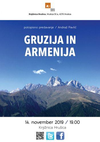 Potopisno predavanje: Gruzija in Armenija, Andraž Pavlič