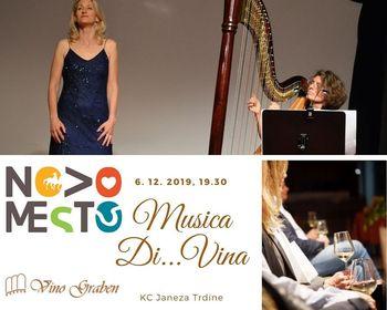 Vino in glasba: vino, ženske in glasba