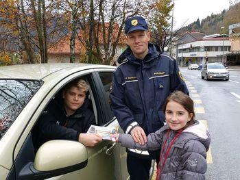 Jeseniški osnovnošolci za varnost v prometu