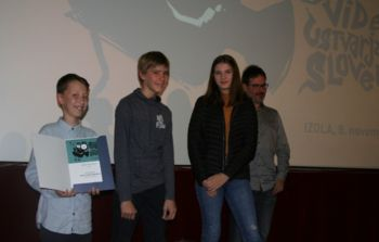 Osnovnošolci z zlato in srebrno plaketo na Filmskem festivalu 2019 v Izoli