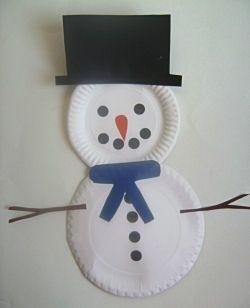 Ustvarjalne delavnice za otroke - Snežak