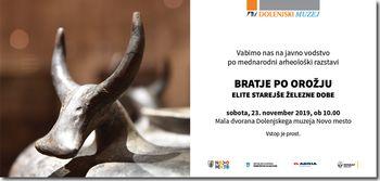 Javno vodstvo po mednarodni razstavi: Bratje po orožju, elite starejše železne dobe