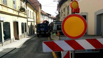Konec tedna dela v zalednih ulicah mestnega jedra